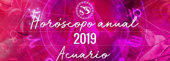 Horóscopo de Acuario 2019