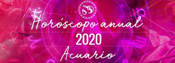 Horóscopo de Acuario 2020