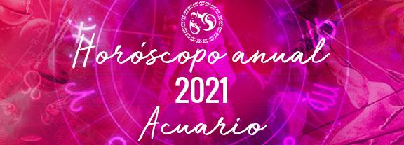Horóscopo de Acuario 2021