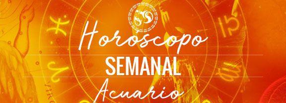 Horóscopo de Acuario Semanal